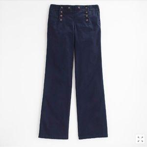 J. Crew Factory Navy Sailor Pants